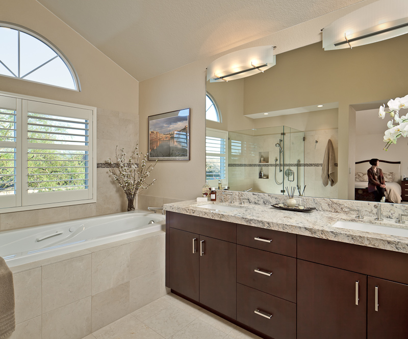 master bath by custom kitchens architectural photographer scott