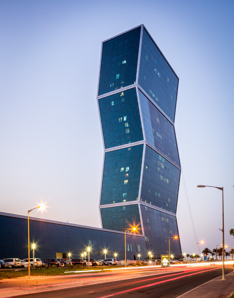 Zig zag towers by mz partners architectural for Architecture qatar