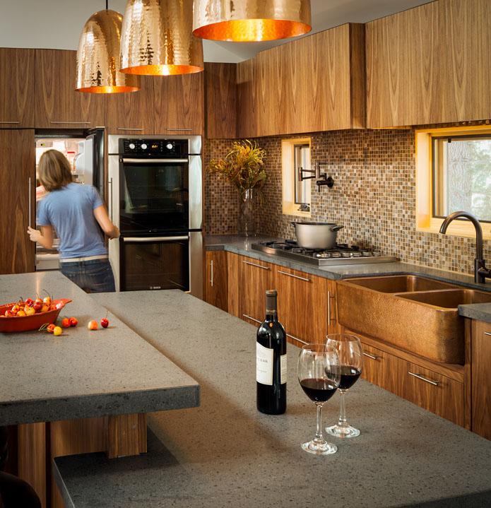 Kitchen by Shelterwerkes