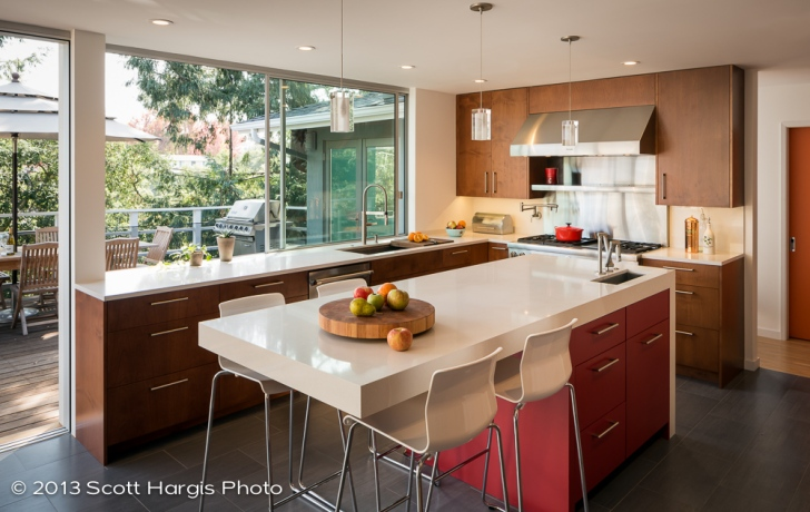 Mid Century Modern Kitchen Upgraded Building Lab Architectural